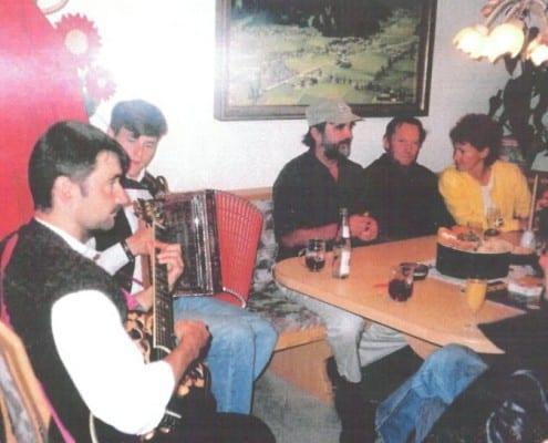 Alex Travel historisches Eroeffnungsfeier mit Marc Pircher 1997