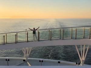 TUI Cruises Mein Schiff 1 Meerlaufstrecke