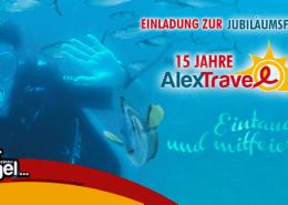 Gewinnspiel 15 Jahre Alex Travel
