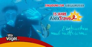 15 Jahr Feier Alex Travel