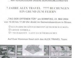 7 Jahre Alex Travel - 7777 Buchungen