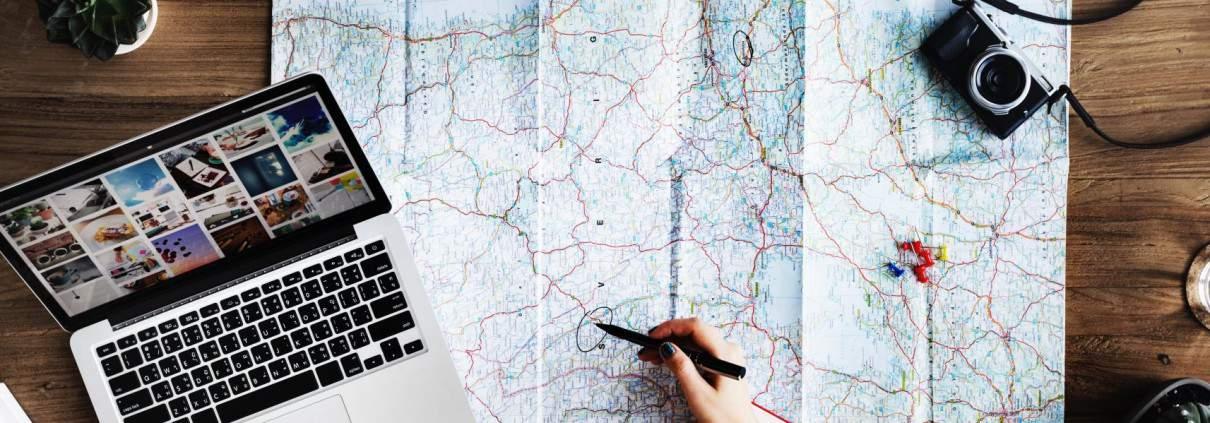Landkarte Alex Travel