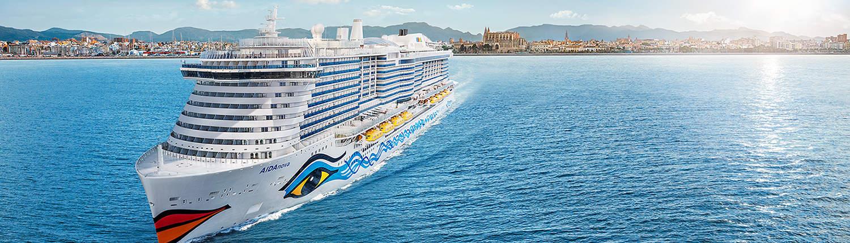 AIDAnova Kreuzfahrt Mallorca - Rom - Florenz - Marseille - Barcelona mit Alex Travel