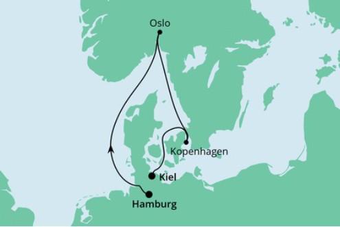 Minikreuzfahrt Hamburg Kiel